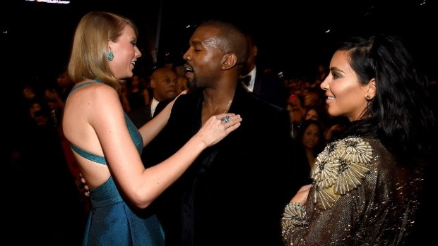 Taylor-Swift--Kanye-West-Kim-Kardashian-at-2015-Grammys-jpg