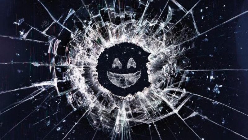 Black Mirror Smiley Face