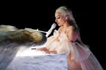 Lady Gaga Performing at the 2018 Grammy Awards
