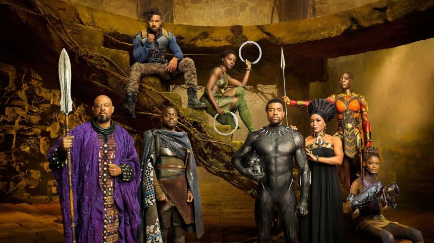 Black Panther Cast 2018